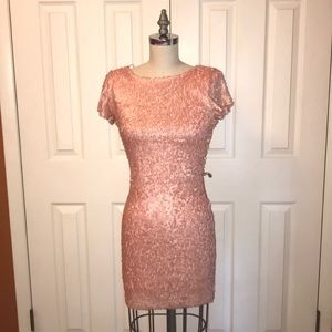 Perfect Cond. Rubber Ducky Backless Sequin Mini S